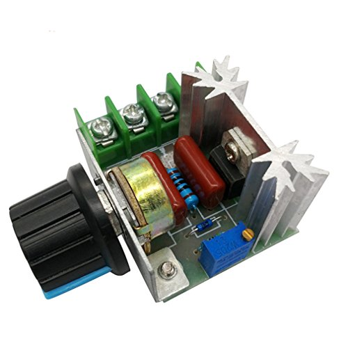HiLetgo 2000W PWM AC Motor Speed Control Module Dimmer Speed Regulator 50-220V Adjustable Voltage Regulator