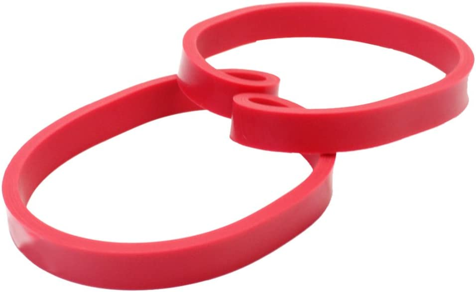 1Pc Red Crossfit Resistance Rubber Band Gym Body Training Powerlifting Pull Up