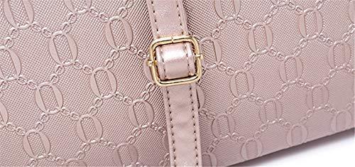 La Madre Color Di Moda Borsa Luxury Gold Sculacciata Per Borsetta Nera qFOWEZtv