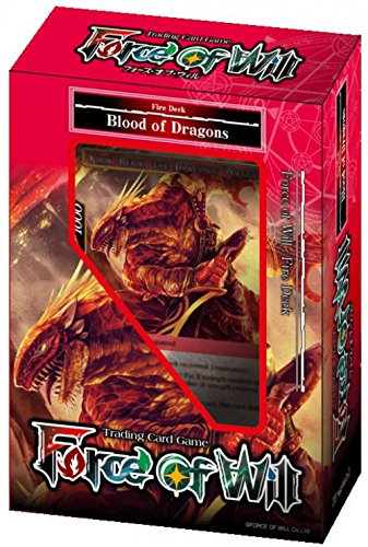 (Force of Will - Fire Blood of Dragons Starter Deck - New Legend Precipice - 51 cards)