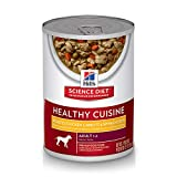 Hill'S Science Diet Adult Healthy Cuisine Wet Dog Food, Roasted Chicken Carrots & Spinach Stew Canned Dog Food, 12.5 Oz, 12 Pack