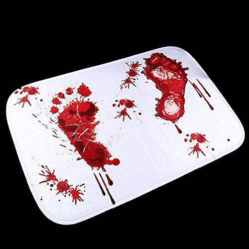 Bloody Footprint Floor Mat Fashion Bloody Footprint