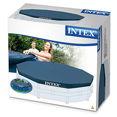 Intex 10-Foot Round Metal Frame Pool Cover
