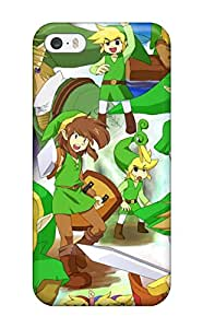Premium Durable The Legend Of Zelda Fashion Tpu Iphone 5/5s Protective Case Cover