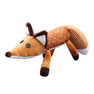 Beher The Little Fox Prince Plush Doll Stuffed Puppet for Children Birthday Graduation Education Toys: Office Products