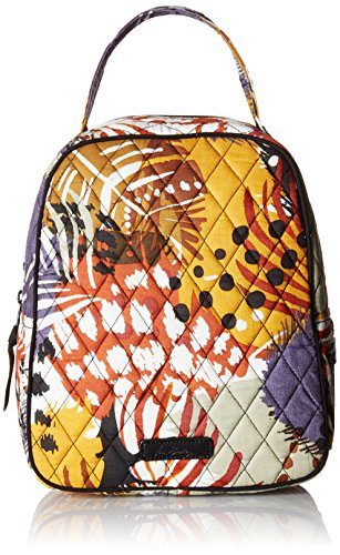 Painted Diamonds Bag - Vera Bradley Lunch Bunch, Painted Feathers
