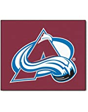 Fanmats 10614 NHL Colorado Avalanche Nylon Face Tailgater Rug