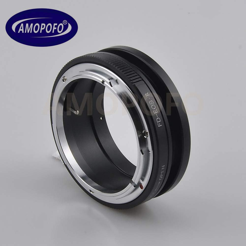 FD to EF R Lens Adapter for Canon FD Mount Lens to for Canon EOS R Full Famer Camera