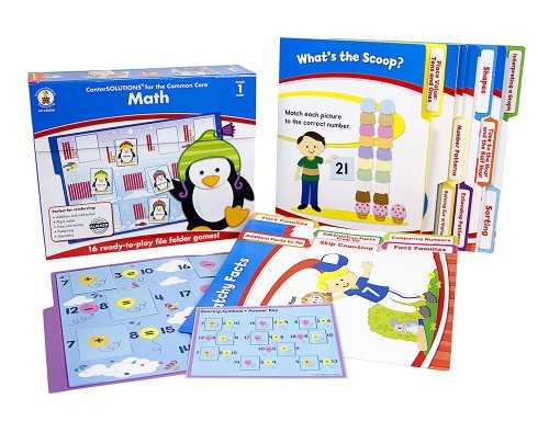 Carson Dellosa Math File Folder Game (140306)