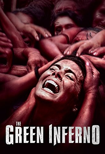 DVD : The Green Inferno (Snap Case, Slipsleeve Packaging)