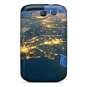 Luoxunmobile333 Snap On Hard Cases Covers Earth From Space At Night Protector For Galaxy S3