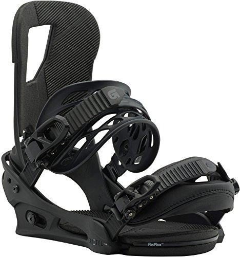Burton Cartel Snowboard Bindings Black Matte Sz L - Cartel Est Binding