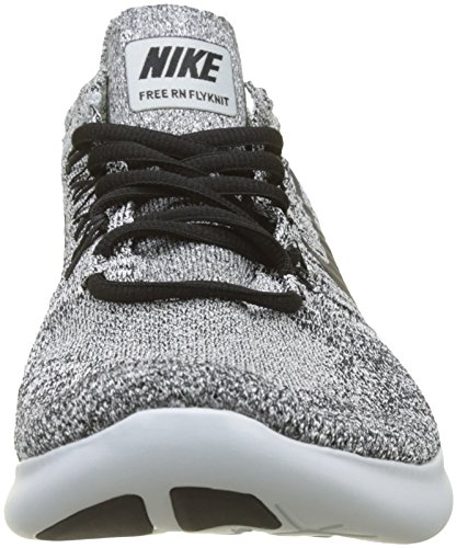 Homme pure RN de Blanc NIKE Platinum Free Black White Flyknit 2017 stealth Chaussures Running 0xS7qZ
