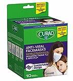 Curad Antiviral Face Mask, 10 Count(3 Packs)