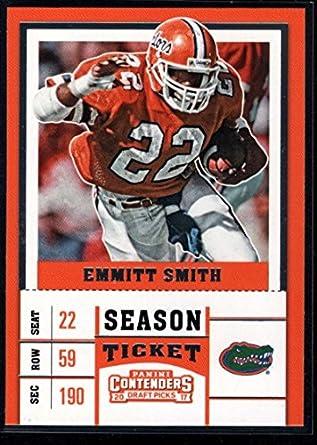 0e99746abd3 2017 Contenders Draft Picks Season Ticket #35 Emmitt Smith Florida Gators