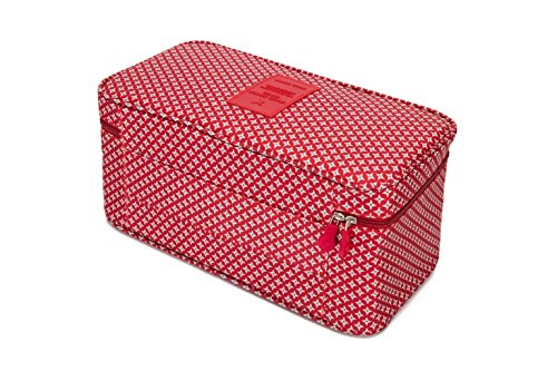 Travel Luggage Organizers Packing Cubes-Compression Pouches For Underwear,Bra,Socks