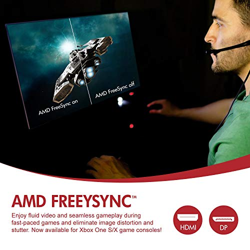 Viotek Gaming Monitor 1080P 144Hz Samsung VA 2 HDMI FreeSync VESA