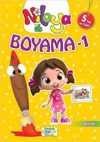 Niloya Ile Boyama 1 Ailem 9786051129983 Amazoncom Books