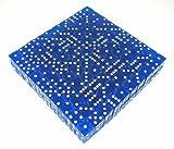 Blue Standard Transparent d6 19mm 200ea