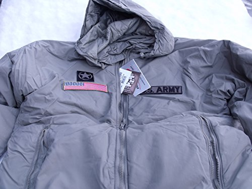 - New with Tags Military Primaloft GEN 3 L7 Extreme Cold Weather Parka W/Hood Med/Reg