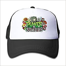 Hittings Kids Adjustable Plants vs Zombie Gorra de béisbol One Size Black: Amazon.es: Libros