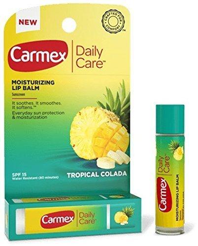 Carmex Daily Care Moisturizing Lip Balm (SPF15) - Tropical Colada