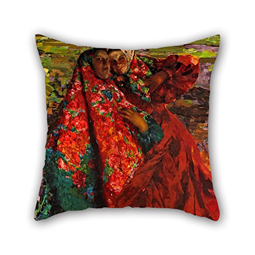 Uloveme 18 X 18 Inches / 45 By 45 Cm Oil Painting Philipp Malyavin - Peasant Women Throw Cushion Covers,both Sides Is Fit For Couch,bar,gf,drawing Room,bedding,home (Bugs Bunny Female Adult Costume)