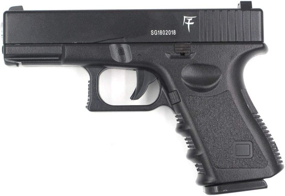 SAIGO Airsoft G17 -Pistola para Airsoft,con Muelle,de Recarga Manual (0,5 Joule)-metálico