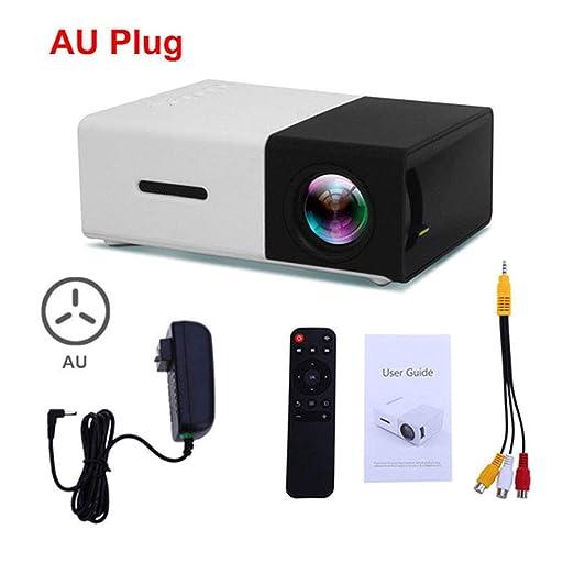 Red tide Mini proyector, PC portátil PC de Inicio de películas y ...