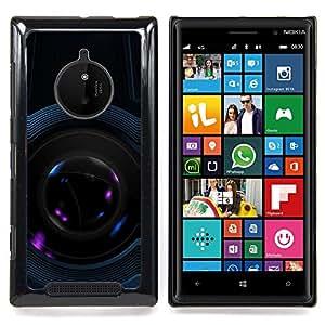 Eason Shop / Premium SLIM PC / Aliminium Casa Carcasa Funda Case Bandera Cover - Arquitectura Espacio de Arte Moderno - For Nokia Lumia 830