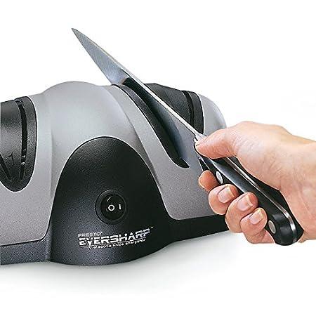 Amazon.com: Presto 08800 EverSharp - Afilador de cuchillos ...