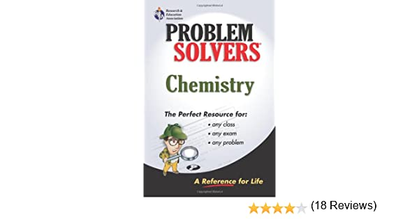 chemistry problem solver problem solvers solution guides a  chemistry problem solver problem solvers solution guides a lamont tyler editors of rea 9780878915095 com books