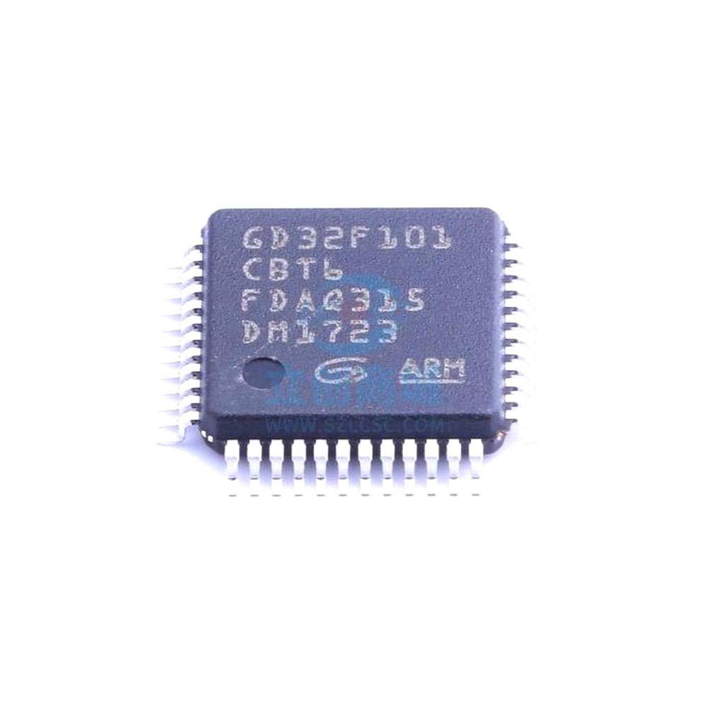 GD32F101CBT6 LQFP-48 56MHz 2.6V-3.6V Flash 1Pcs