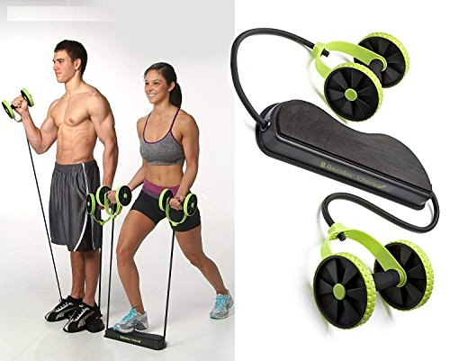 Sungpunet Men Woman Fitness Abdominal Trainer Revoflex Xtreme ABS Workout Kit Resistance Bands Exercise Multifunction Crossfit Exercise