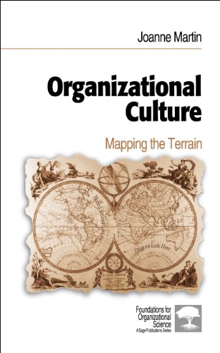 Download Organizational Culture: Mapping the Terrain (Foundations for Organizational Science) Pdf
