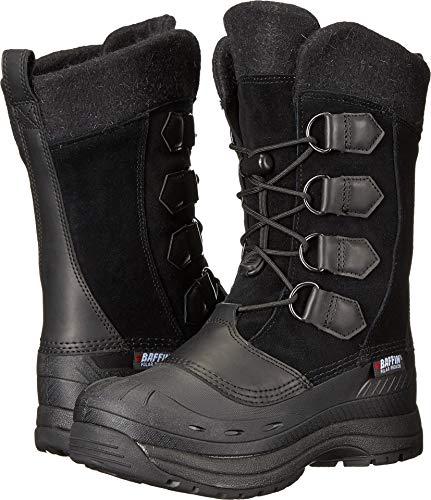 Baffin Women's Kara Snow Boot, Black, 9 M US - Baffin Womens Boots