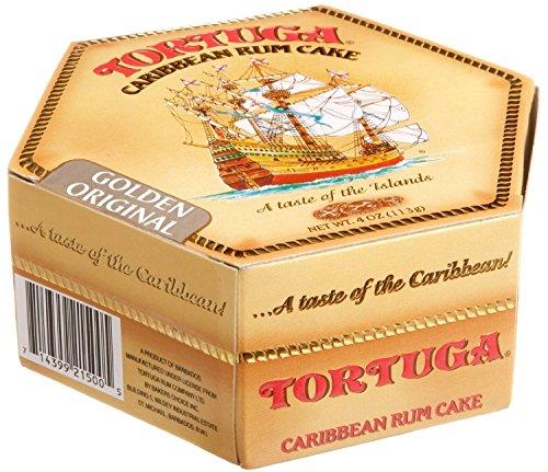 Tortuga Original Caribbean Rum Cake, 4-ounce Cake with Walnuts Flavored