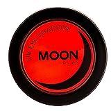 Moon Glow - Blacklight Neon Eye Shadow 0.12oz Red – Glows brightly under Blacklights / UV Lighting!