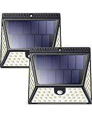 Solarleuchten für Aussen,Super Hell Solarlampen mit Bewegungsmelder, IP65 Wasserdicht Solarlicht Lichter,Solarlampen Aussenbeleuchtung