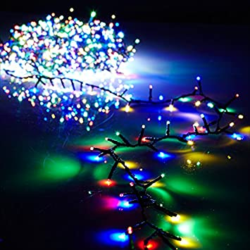raz 8 function multi color led 73 christmas snake compact garland 1000 lights g3737057