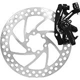 Tektro Novela Mechanical Disc Brake, Front/Rear w/160mm Rotor.