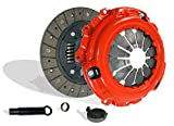 Clutch Kit Works With Acura Csx Rsx Civic Type-S Si Base Coupe 2-Door Sedan 4-Door 2006-2011 2.0L l4 GAS DOHC Naturally Aspirated (6 Speed Trans; Flywheel Spec: 0.047+; Stage 1)