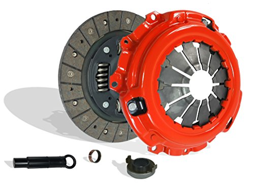 (Clutch Kit Works With Acura Csx Rsx Civic Type-S Si Base Coupe 2-Door Sedan 4-Door 2006-2011 2.0L l4 GAS DOHC Naturally Aspirated (6 Speed Trans; Flywheel Spec: 0.047+; Stage 1))