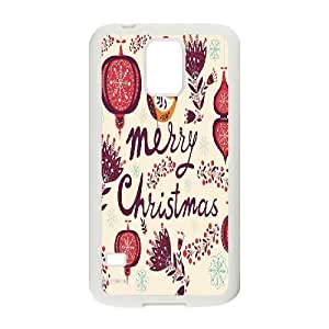 Custom New Cover Case for SamSung Galaxy S5 I9600, Merry Christmas Phone Case - HL-710576
