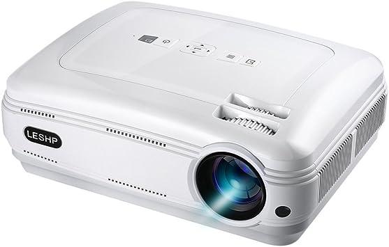 Proyector, Proyector de vídeo 1080p HD 3200 Lumens Blanco Weiß ...