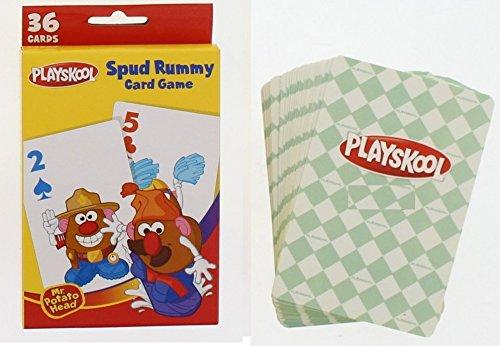 DDI Playskool Mr Potato Head Spud Rummy Card Game