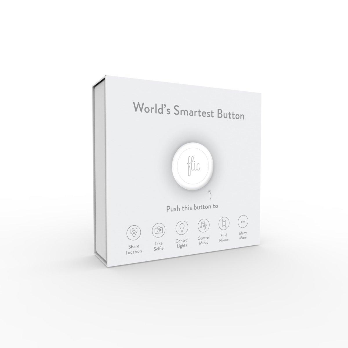 Black Flic RTLF006 The Wireless Smart Button