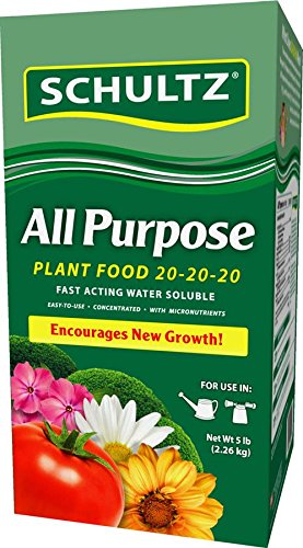 Schultz 5# All Purpose Water Soluble Plant Food 20-20-20 ()