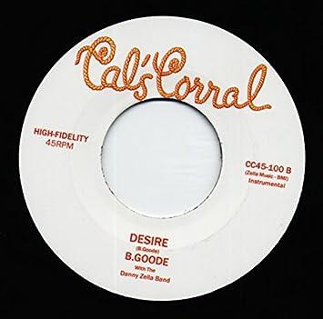 Billy Mize - B Goode - Planet Named Desire b-w Desire 7inch