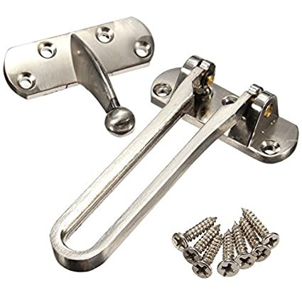 Thicken Front Door Security Chain Restrictor Strong Safety Lock Guard Catch B Uk